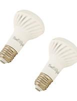9W E26/E27 Projecteurs PAR 18 SMD 5730 750 lm Blanc Chaud AC 85-265 V 2 pièces
