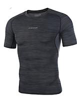 Плюс размер 3xl мужская мода хлопок футболки с коротким рукавом быстро сухие круглые рубашки шеи