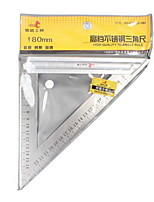 Hold® 180mm 90 Degree L Shape Stainless Steel Triangle Ruler Tool