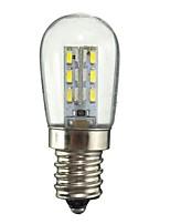 1W E12 Lâmpada Redonda LED 24 SMD 2835 50-99 lm Branco Quente Branco Decorativa AC110 AC220 V 1 pç