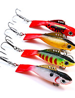 1 pcs Fishing Lures Hard Bait Green White Yellow Red g/Ounce mm/2-1/4