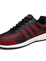 Men's Sneakers Spring Fall Comfort Tulle Outdoor Lace-up Walking