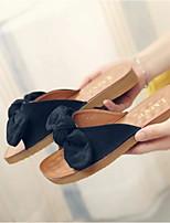 Damen Sandalen Fersenriemen PU Sommer Lässig Schwarz Braun 2,5 - 4,5 cm