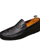 Men's Loafers & Slip-Ons Spring Moccasin Comfort Pigskin Nappa Leather Casual Flat Heel Walking