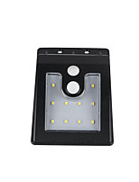 Three-In-One Function Version 10LED Body Sensor Lamp Garden Corridor Wall Lamp