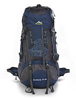 75 L Заплечный рюкзак Восхождение Спорт в свободное время Отдых и туризмВодонепроницаемость Защита от пыли Пригодно для носки