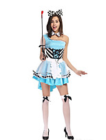 Amazing Alice In Wonderland Maid Costume Adult Fantasia Cosplay Kigurumi Hallowene Maid Costumes for Women Clothing Carnival Sexy Party Dress