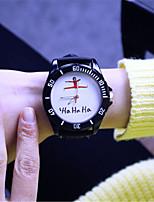 Hombre Reloj de Moda Cuarzo Aleación Banda Negro