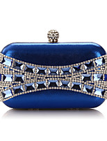 L.WEST Woman Fashion Oxidation Of Zircon Evening Bag