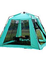 5-8 personnes Tente Unique Tente pliable Une pièce Tente de camping 2000-3000 mm Fibre de verre OxfordRésistant à l'humidité Etanche