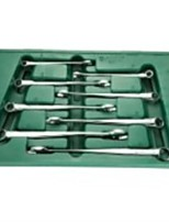 World 8 Pieces Of Elongated X Handle Wrench Sets / 1 Set