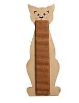 Игрушка для котов Игрушки для животных Интерактивный Когтеточка сизаль