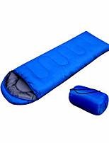 Спальный мешок Прямоугольный Односпальный комплект (Ш 150 x Д 200 см) -10~+35 Пористый хлопок Полиэстер75Пешеходный туризм Походы Пляж