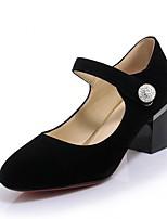 Femme-Bureau & Travail Décontracté Soirée & Evénement--Gros Talon-Confort Nouveauté-Chaussures à Talons-Synthétique Similicuir