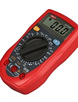 UNI-T® UT33D Digital Multimeter Electronic Measuring Instrument AC Voltage Detector Portable Ohm/Volt Test Meter Multi Tester with Backlight LCD Displ