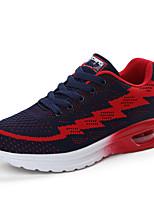 Hombre-Tacón Plano-Confort-Zapatillas de deporte-Exterior Informal Deporte-Tul-