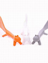 Lovely PP Standing Squirrel Shape Ladle Spoons(Color Random)