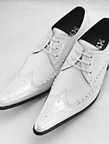 -Для мужчин-Повседневный-Полиуретан-На толстом каблуке-Удобная обувь-Мокасины и Свитер