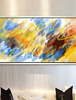Art Print Abstract Modern One Panel Horizontal Print Wall Decor For Home Decoration