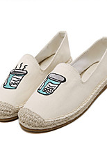 Women's Loafers & Slip-Ons Spring Fall Light Soles Canvas Casual