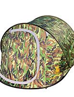 3-4 человека Световой тент Один экземляр Автоматический тент Однокомнатная Палатка 2000-3000 мм Стекловолокно НейлонВлагонепроницаемый