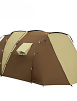 5-8 personnes Tente Unique Tentes Familiales Deux pièces Tente de camping 2000-3000 mm Fibre de verre XPERésistant à l'humidité Etanche