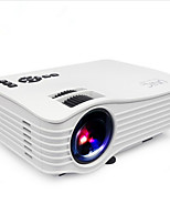 LCD WVGA (800x480) Projetor,LED 1200 Portátil HD Sem Fio Projetor