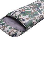 Saco de dormir Retangular Solteiro (L150 cm x C200 cm) -10 -25 Algodão T/C 220X80 Campismo Á Prova de Humidade Mantenha Quente 自由之舟骆驼