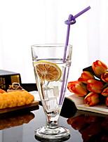 301-400ml Transparent Glass Bottle Juice Cup