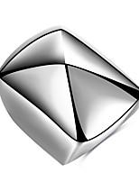 Кольцо Базовый дизайн Уникальный дизайн Мода Панк По заказу покупателя Хип-хоп Rock Euramerican Титановая сталь Геометрической формы