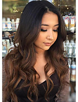 Hot !!! High Quality 8-26 100% Brazilian Human Virgin Hair Lace Front Wig T1B/33 Gueless Lace Front Wig For Woman with Baby Hair