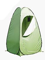 1 personne Tente Unique Tente automatique Une pièce Tente de camping <1000mm Fibre de verre OxfordRésistant à l'humidité Etanche