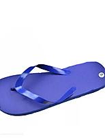 Women's Slippers & Flip-Flops Summer Comfort PVC Outdoor Casual Flat Heel Blue Green Red Yellow Black Walking