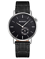 Women's Fashion Watch Quartz Alloy PU Band Casual Black Brown