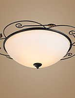 Flush Mount ,  Traditional/Classic Vintage Others Feature for LED Metal Living Room Bedroom Study Room/Office Entry