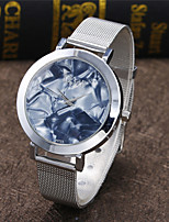 Women's Fashion Watch Quartz Alloy Band Casual Silver