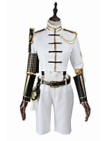 Inspired by Cosplay Cosplay Video Game Cosplay Costumes Cosplay Suits Cosplay Tops/Bottoms Fashion Long SleeveCoat Blouse Pants Socks