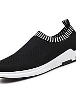 Men's Sneakers Spring Fall Comfort PU Outdoor Flat Heel
