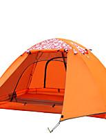 LYTOP/飞拓 2 personnes Tente Double Tente pliable Une pièce Tente de camping Fibre de verre OxfordEtanche Respirabilité Résistant aux
