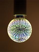 4W E27 Lâmpada Redonda LED G95 28 LED Integrado 350 lm Branco Quente Decorativa AC 85-265 V 1 pç