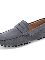 -Для мужчин-Для прогулок Повседневный-Замша-На плоской подошве-Удобная обувь Мокасины-Мокасины и Свитер