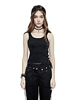 Punk Rave PT-099 Women's Party Club Holiday Sexy Simple Punk Gothic All Seasons Tank Top Vest