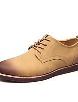 Men's Oxfords Comfort Suede Outdoor Office & Career Casual Flat Heel Walking