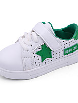 Boys' Sneakers Spring Summer Mary Jane Comfort PU Outdoor Athletic Casual Flat Heel Magic Tape Lace-up Walking