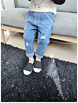 Boys' Casual/Daily Solid Pants-Cashmere Fall