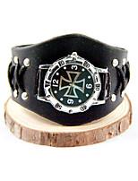 Uhr/Armbanduhr Inspiriert von Meuchelmörder Connor Anime Cosplay Accessoires Uhr/Armbanduhr Lackleder