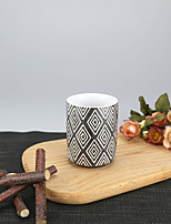 175ml Tribal Geomatrical Patern High Temperature Porcelain Cup