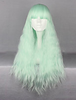Green Lolita Wig  Curly Long Hair  Costume Cosplay  Wigs