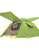 3-4 personnes Tente Double Tente automatique Une pièce Tente de camping >3000mm Fibre de carboneRésistant à l'humidité Etanche
