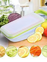 5 предметов Овощечистка & Терка Cutter & Slicer For Для приготовления пищи Посуда Пластик Нержавеющая стальВысокое качество Творческая